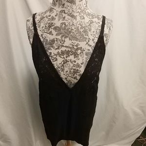 Free People black romper medium NWT